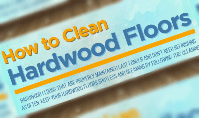 How to Clean Hardwood Floors