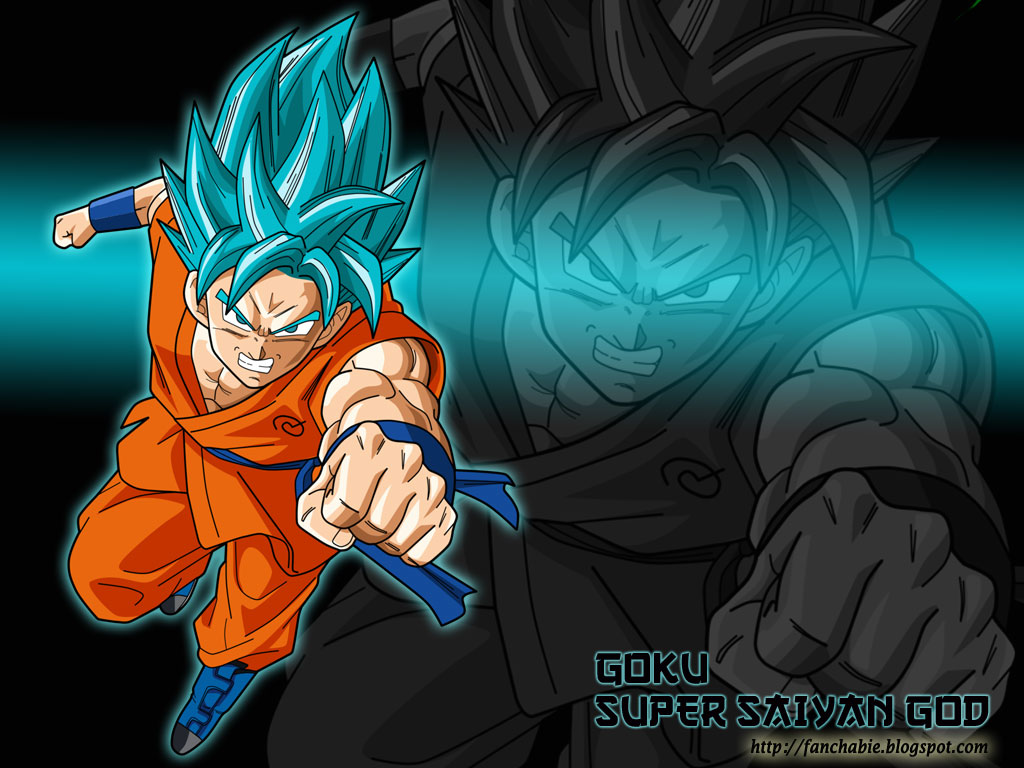 Best Wallpaper Goku Super Saiyan God Ssj Blue
