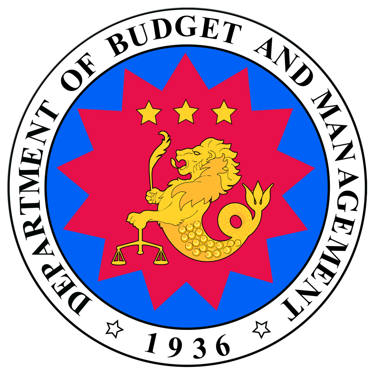 Department of Budget and Management Seal DBM logo
