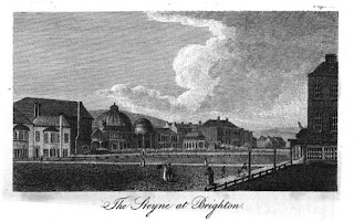 The Steyne, Brighton  from A Guide to all the Watering and Sea-Bathing Places (1815)