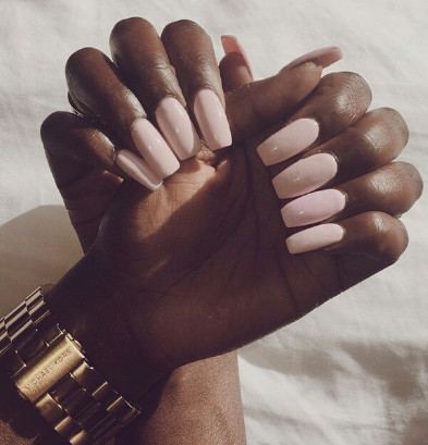 What Nail Color Looks Best On Dark Skin