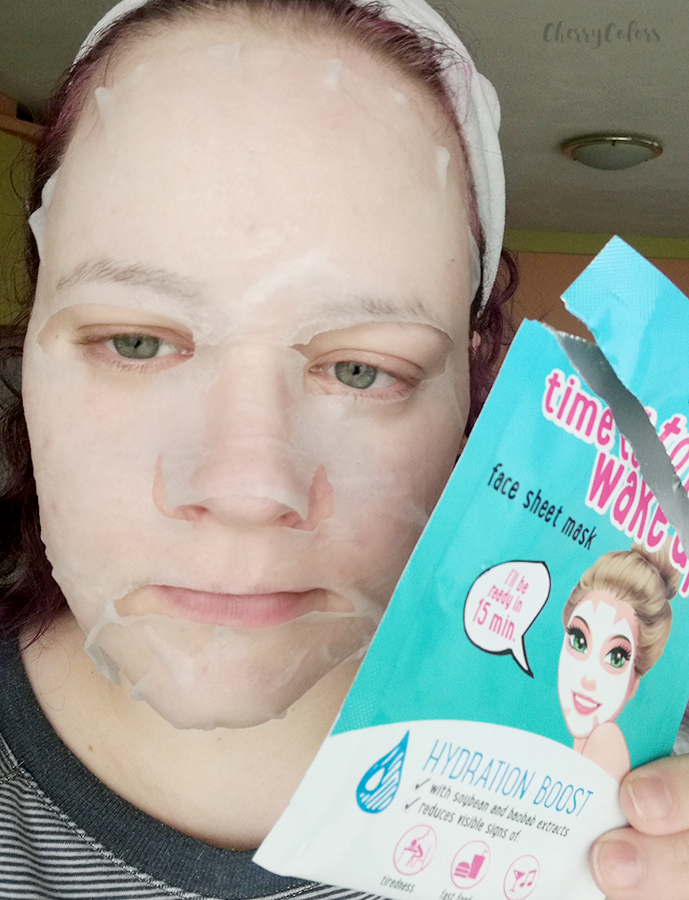 Essence Time to Wake Up Sheet Mask