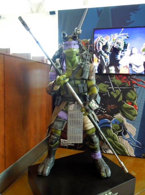 Life-size Teenage Mutant Ninja Turtles Donatello statue