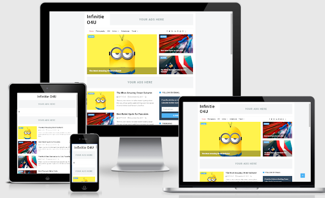 Download Template Infinite Responsive Premium Version