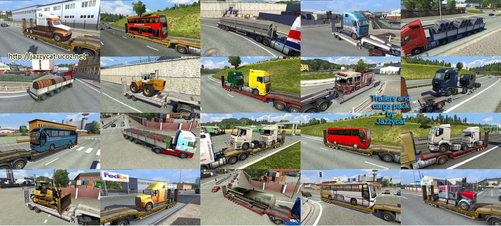 Jazzycat Trailers and Cargo Pack 2.8