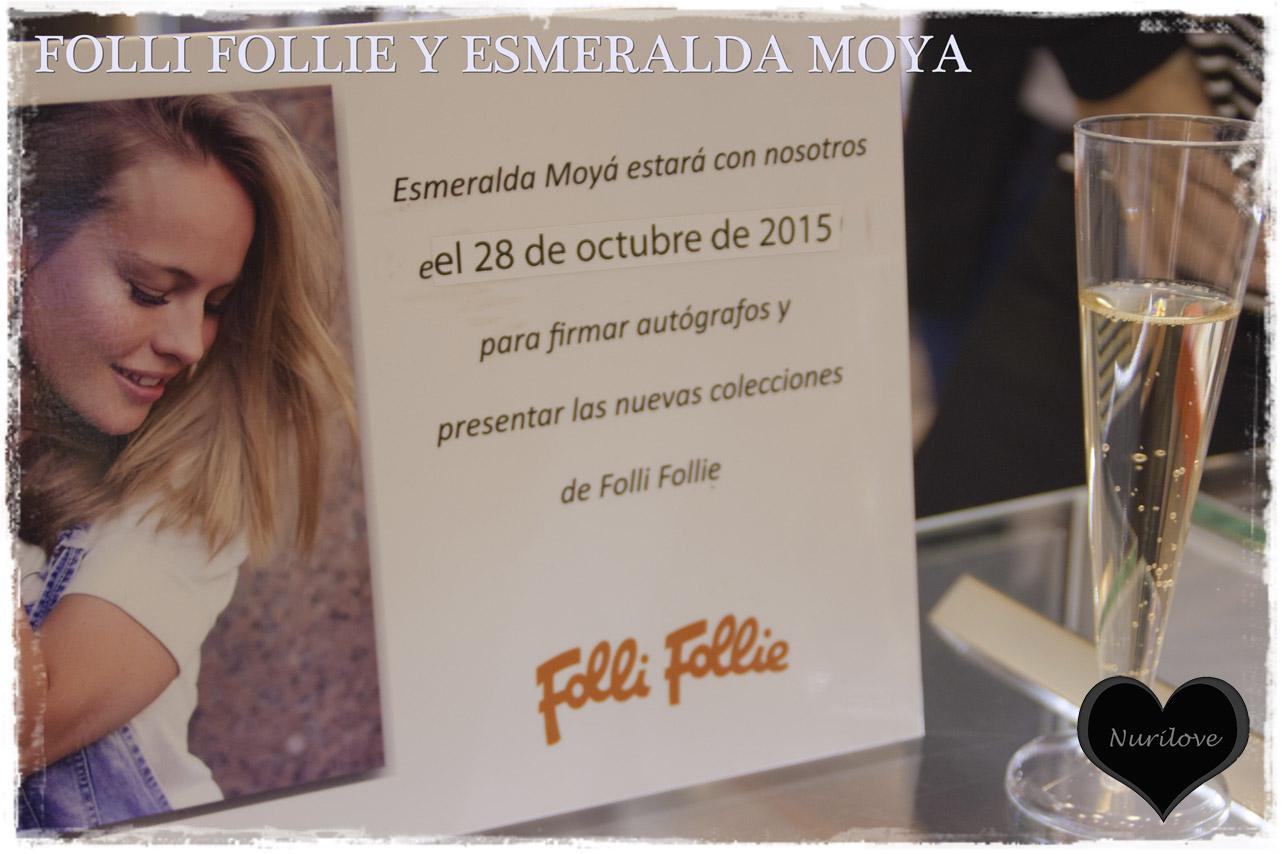 Presentación de la última colección de Folli Follie de la mano de Esmeralda Moyá