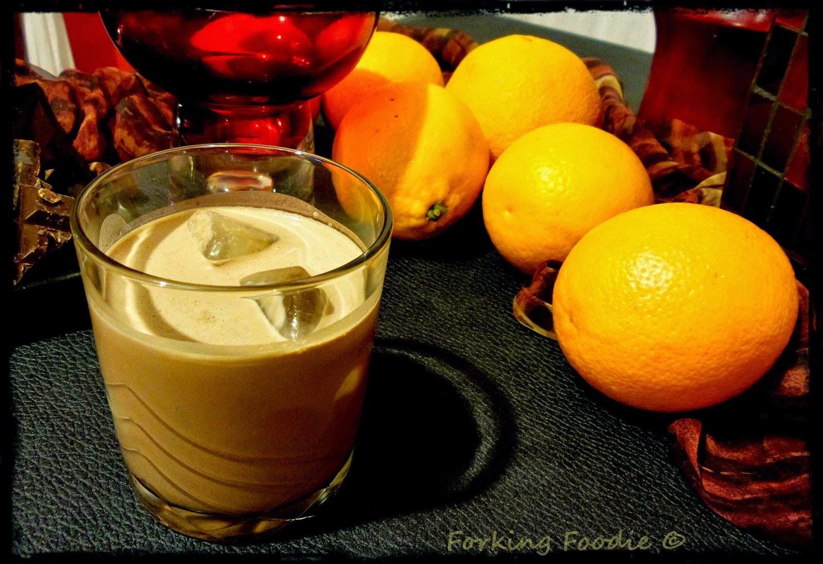Thermomix Chocolate Orange Liqueur