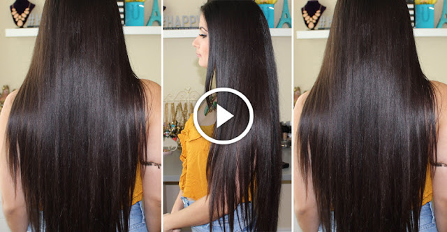 How To Use Simple Natural Mask To Get Long And Shiny Hair!