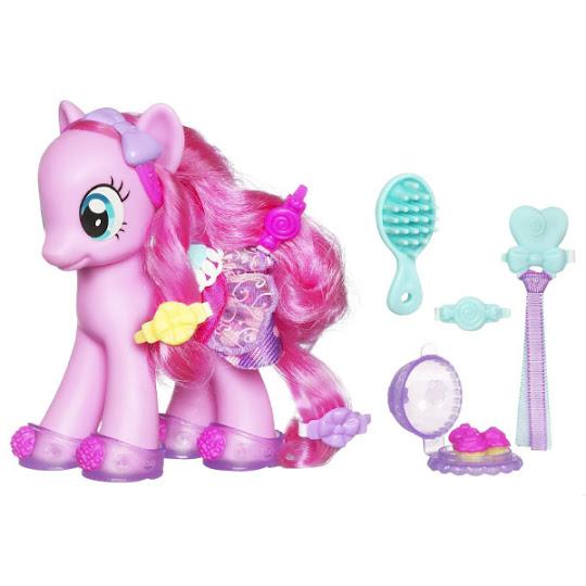 Mlp Fashion Style Pinkie Pie Brushable Figure Mlp Merch
