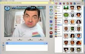 برنامج WebcamMax-7.8.7.8 لاضافة تاثيرات على الكاميرا