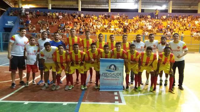 Aracati Futsal Sub-20 (Foto: Junior Ribeiro)
