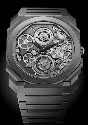 Bvlgari Finissimo Tourbillon Automatic, un pas de plus vers la miniaturisation des grandes prouesses horlogères.