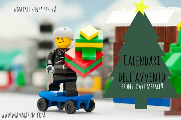 Calendario Per Bambini Fai Da Te.Mammarum Calendari Avvento Per Bambini Da Comprare