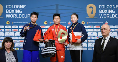 Meena Kumari Wins Gold in Cologne Boxing World Cup