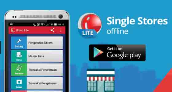 iREAP LITE: POS ( Point of Sale) Gratis Khusus Android Mikro Bisnis/UKM