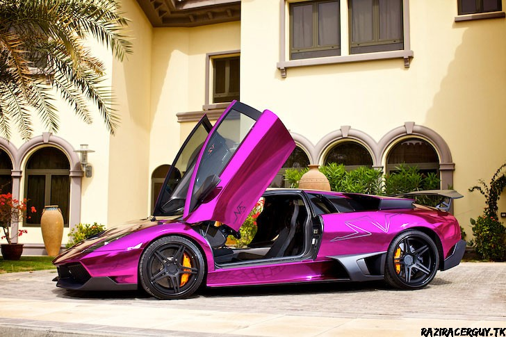 Lamborghini Lp670 4 Superveloce Plus Chrome Purple Plus Adv 1 Wheels