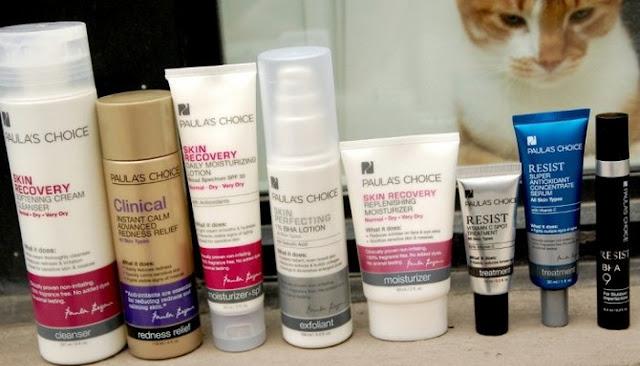 paula begoun's personal skin care routine