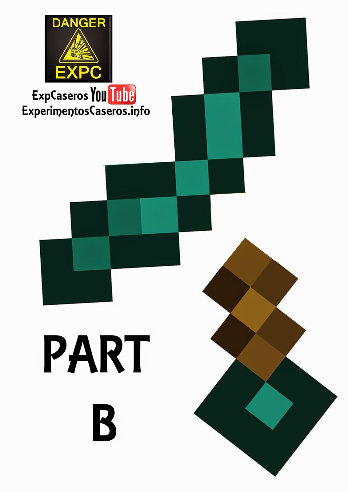 Espada De Minecraft Casera Minecraft En La Vida Real Minecraft