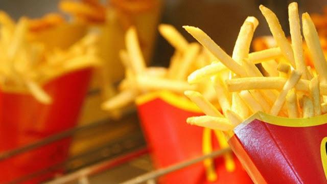 Te mostramos como se hacen las papas fritas de McDonald's