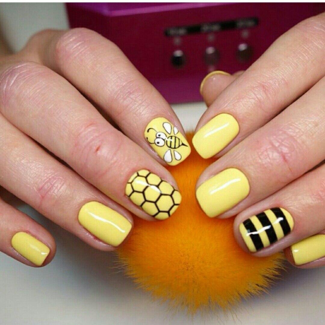 pretty cool nail art design idea
