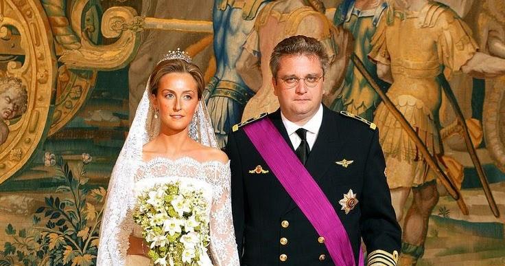 A Classic Belgian Wedding: Royal Wedding Dresses: Princess Claire Of Belgium