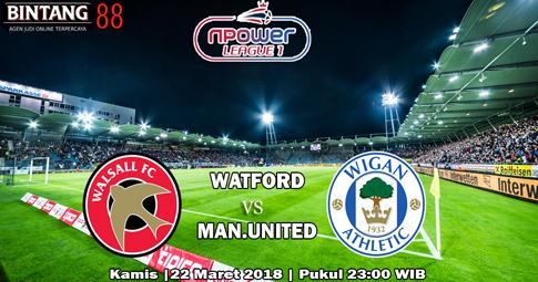 PREDIKSI Walsall vs Wigan 22 Maret 2018