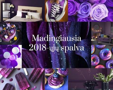 Madingiausia 2018-ųjų spalva