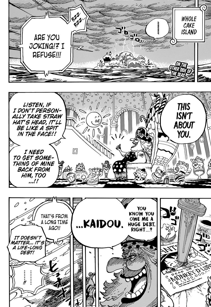 One Piece 907 Chapter Manga Engilish