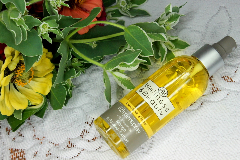 Wellness & Beauty Spray do ciała z mango i papają
