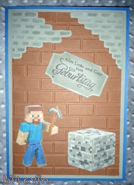 Karte Minecraft.Bitavin S Bastel Blog Minecraft Karte