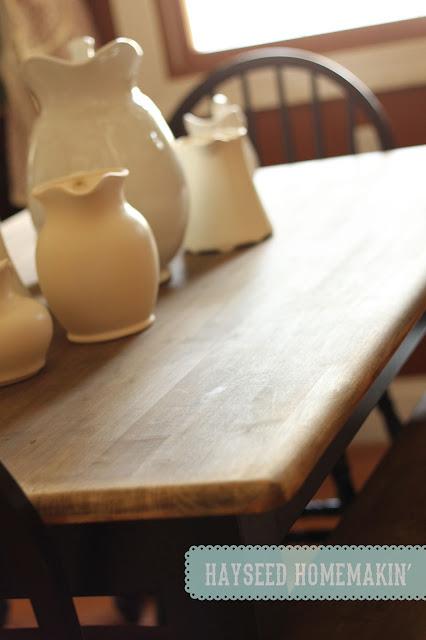 Hayseed Kitchen Tables