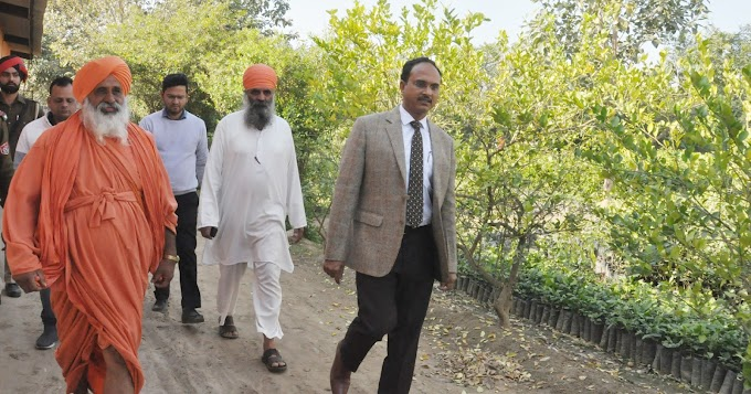 5 LAKH SAPLINGS TO BE PLANTED IN JALANDHAR FOR ENHANCING GREEN COVER - DC