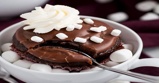 Hot Chocolate Cupcakes Recipe