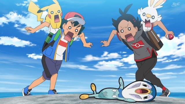Capitulo 8 Serie Viajes Pokémon: ¡No pierdas Piplup! ¡Carrera de témpanos de hielo en Sinnoh!