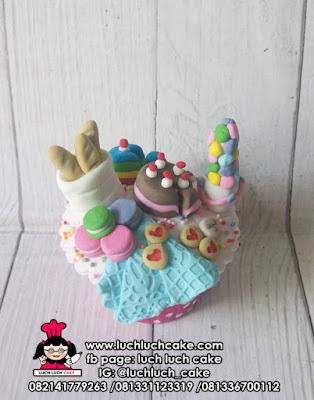 Cupcake Tema Piknik
