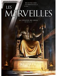 BD Les 7 Merveilles  La Statue de Zeus, de Luca Blengino et Stefano Andreucci