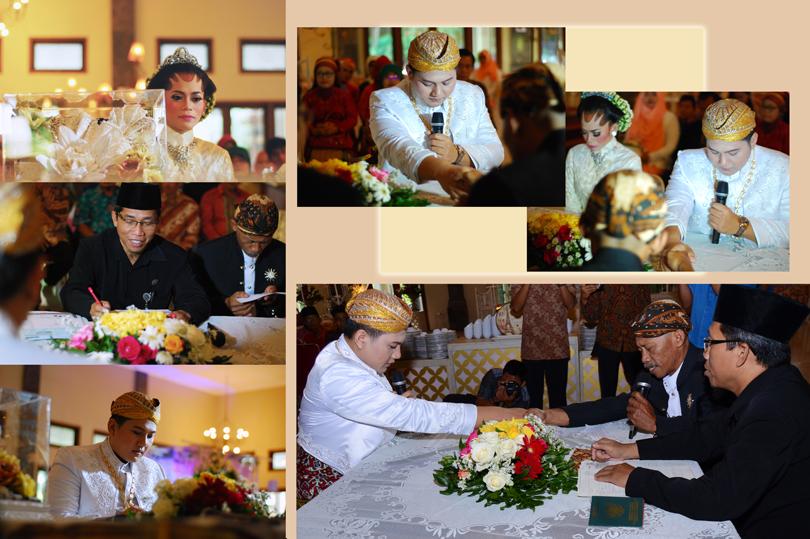 foto ijab kabul pernikahan islami