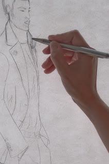 Boceto a lápiz el