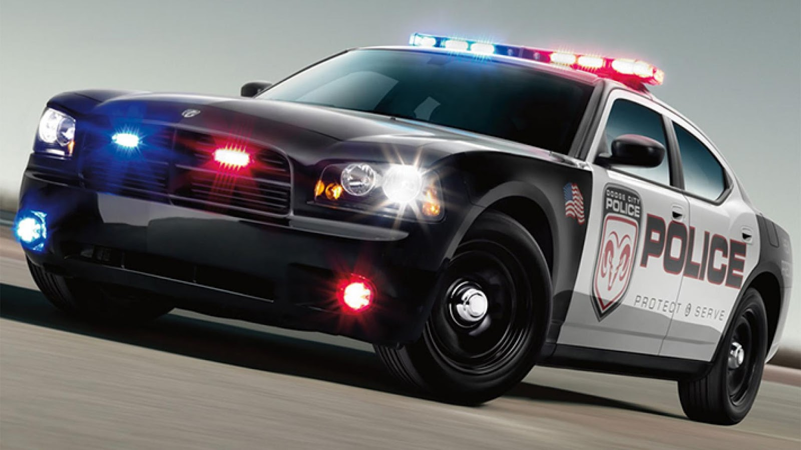 US police Dodge Charger