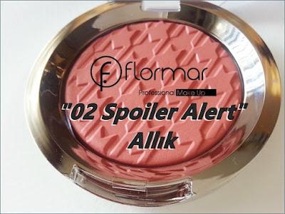 "Flormar ""Spotlight"" Serisi ""02 Spoiler Alert"" Allık"