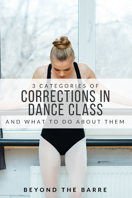 3 Types Of Corrections You Will Get In Dance Class - and what to do about them