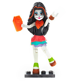 MH Ghouls Collection 3 Skelita Calaveras Mega Blocks Figure