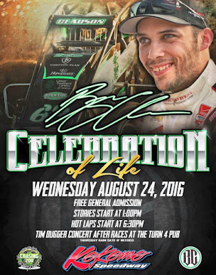 Bryan Clauson's 'Celebrate The Life' at Kokomo Speedway