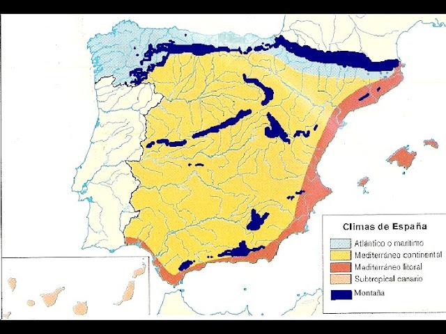 Clima na Espanha