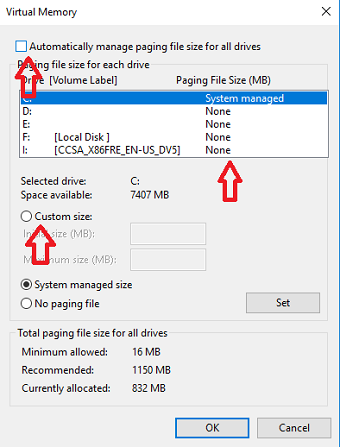 Increase RAM Using your Pendrive
