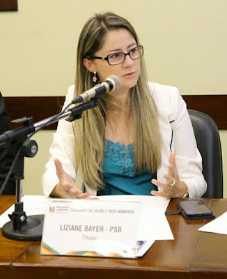 Resultado de imagem para deputada estadual liziane Rio Grande do Sul
