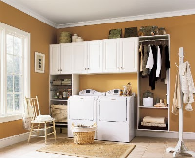 Laundry Room Cabinets Rooms Wall