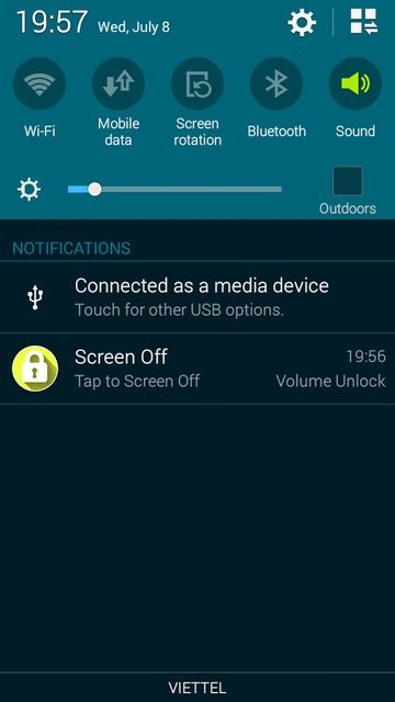 Volume Buttons To Turn Off Android Screen