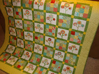 Bloom Where You're Planted quilt