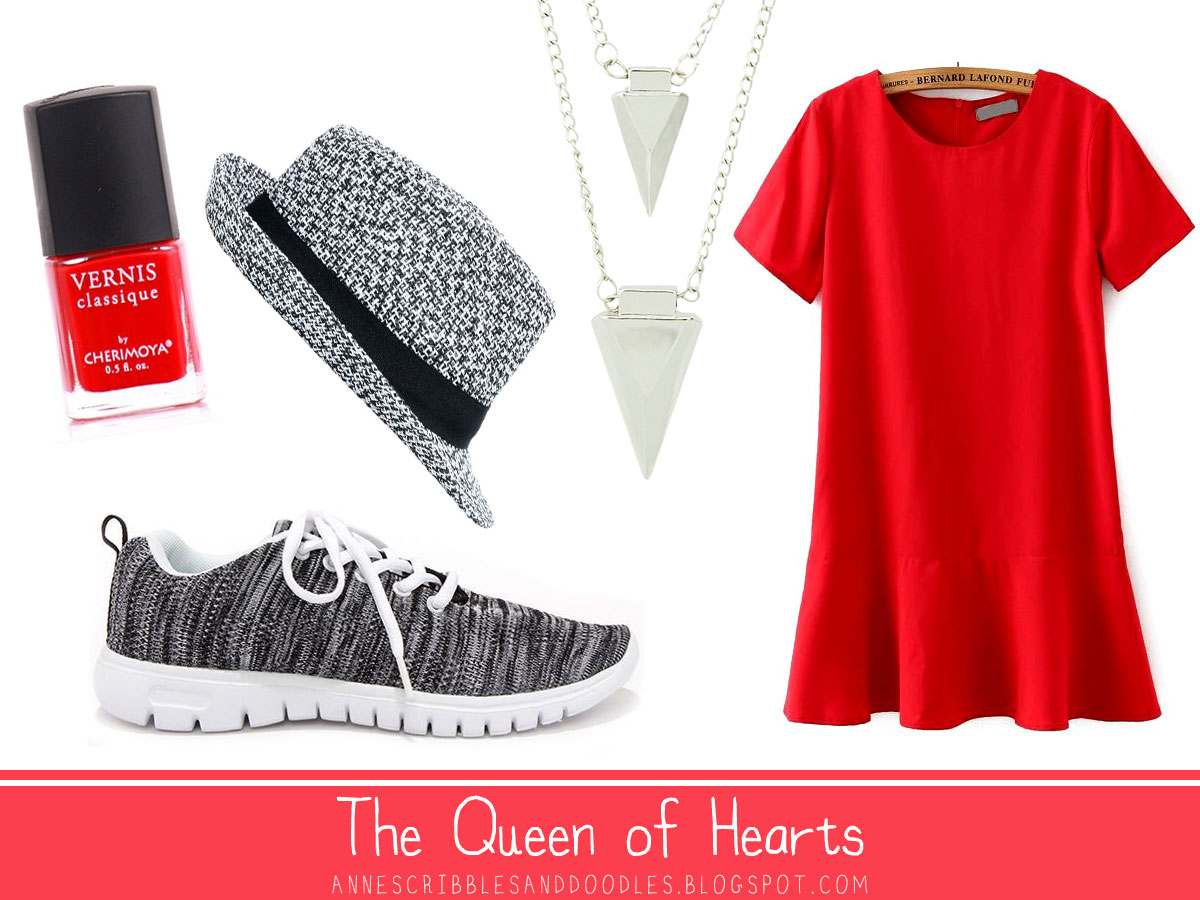 The Queen of Hearts | Alice in Wonderland Character Inspired Outfits
